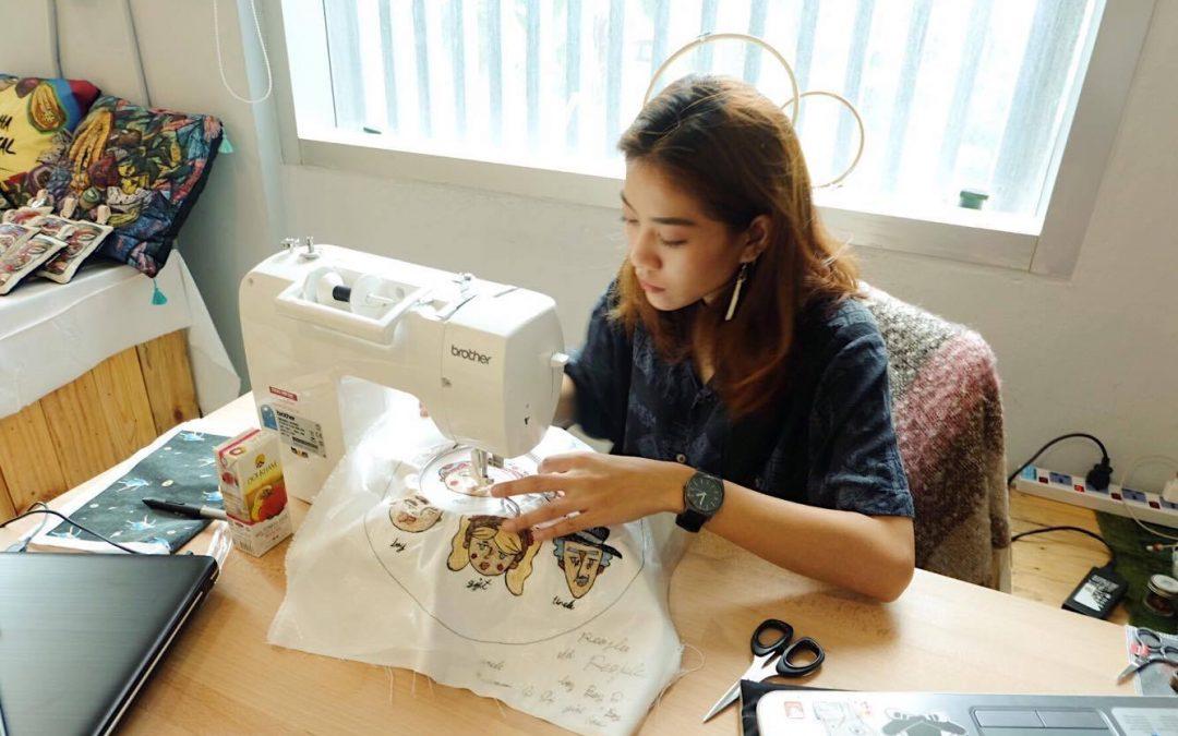 จักรเย็บผ้า รุ่น GS-3700P เติมเสน่ห์ผู้หญิงยุคใหม่