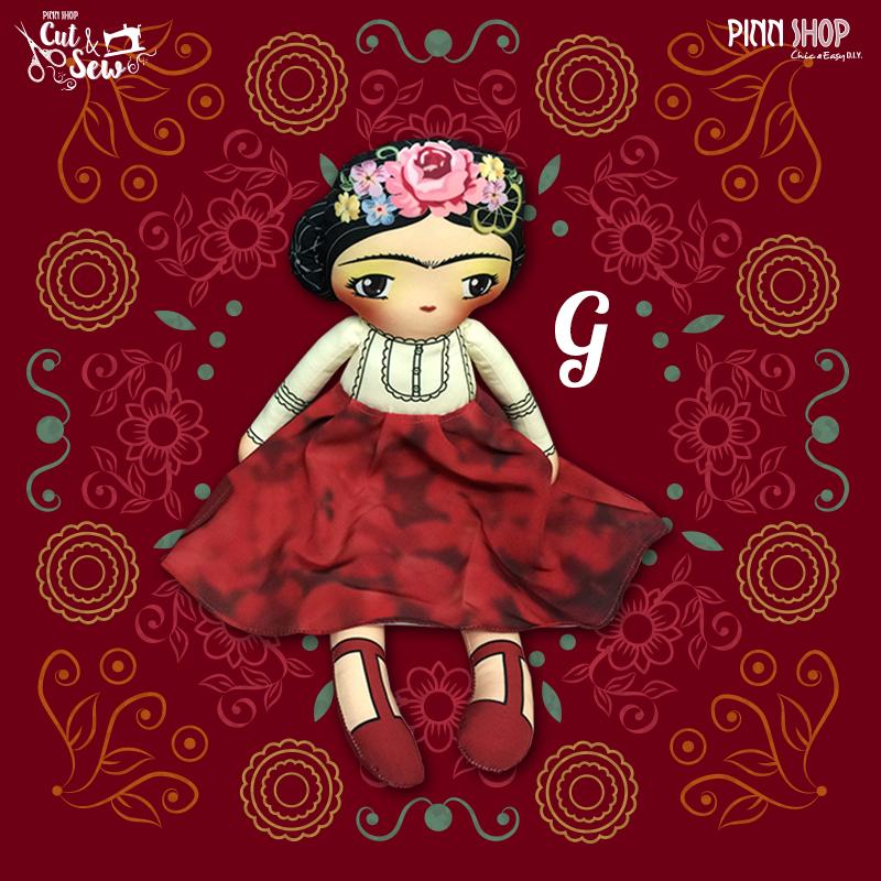 CUT & SEW Girly Gang ผ้าพิมพ์ลาย พร้อมแพทเทิร์นในตัว