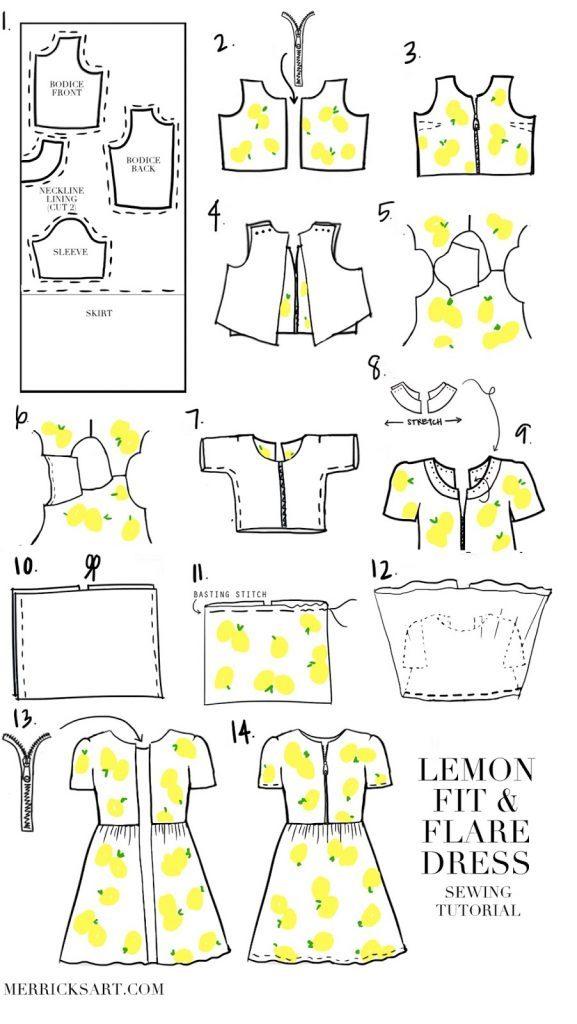 How To- LEMON DRESs