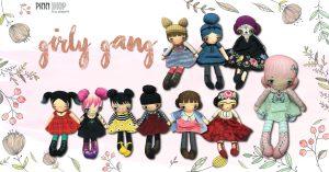 Review- CUT & SEW Girly Gang ผ้าพิมพ์ลาย พร้อมแพทเทิร์นในตัว