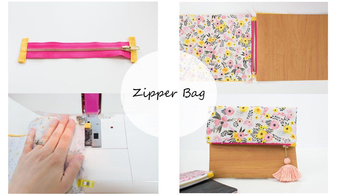 IDEA : กระเป๋าปากซิปคละสี