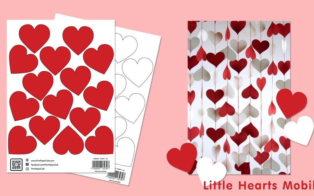 Pinn Paper – Little Hearts Moblie