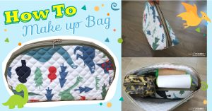 How To✖ Make up Bag