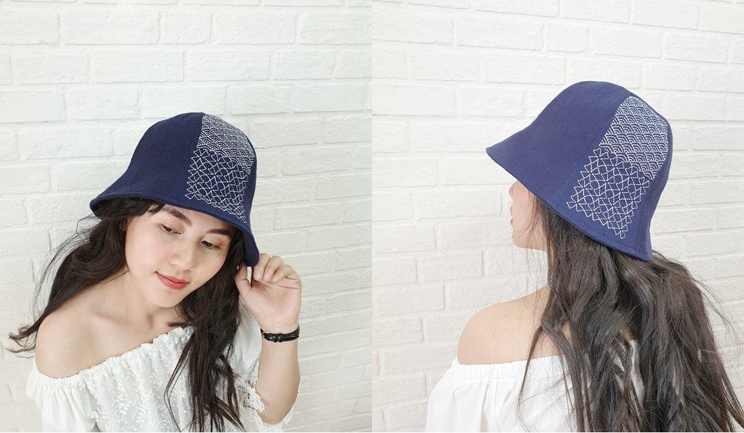 How To : หมวกทิวลิป Sashiko