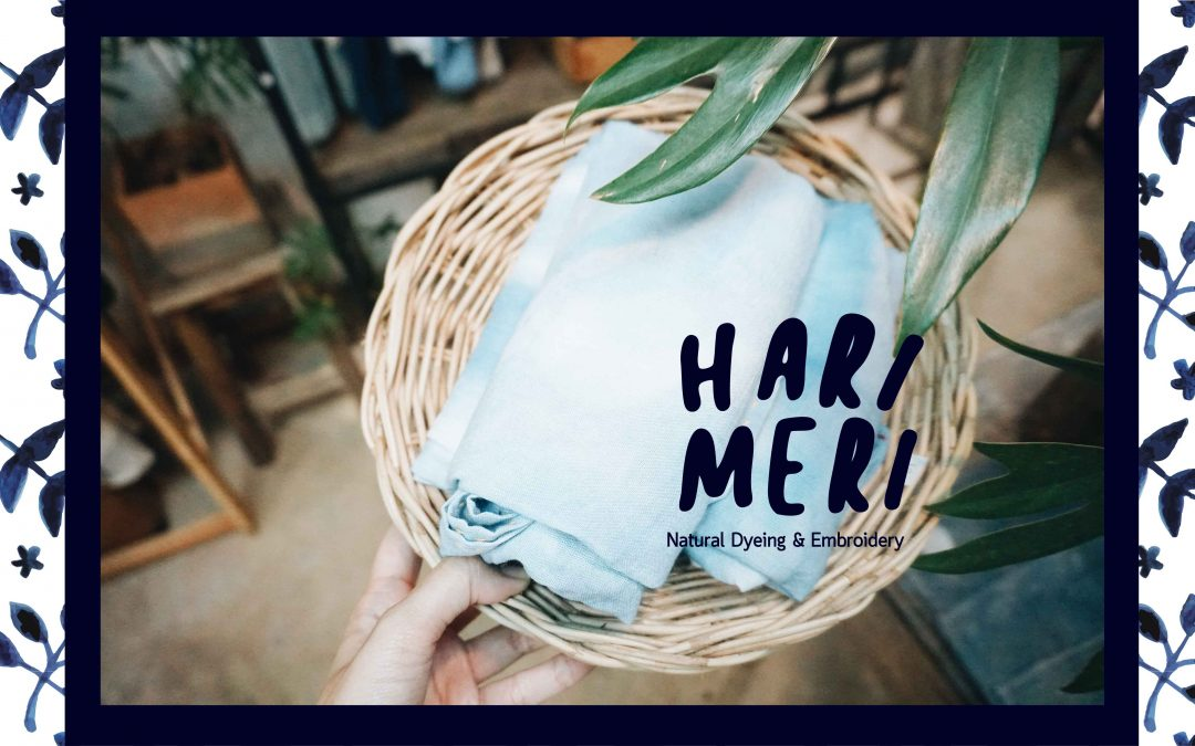 รีวิว:ร้านHARIMERI {Natural Dyeing and Embriodery}