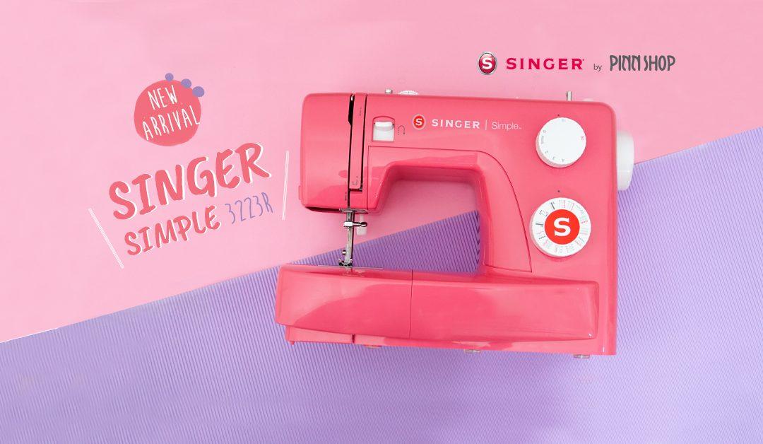 รายละเอียด จักรเย็บผ้าสีชมพู Singer รุ่น 3223R จาก PINN SHOP