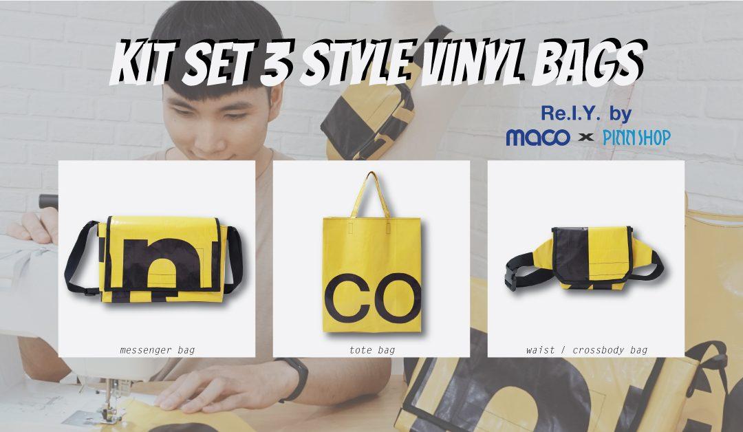 HowTo : Kit Set 3 Style Vinyl Bags